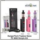 Kangertech Topbox Nano Starter Kit - боксмод вариватт + атомайзер, набор