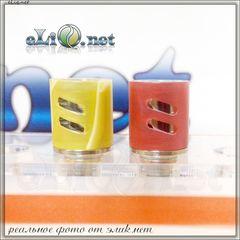[510] Double Airflow Acryl Drip tip. Акриловый дриптип с двойным обдувом.