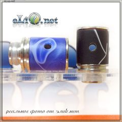 [510] Airflow Acryl Drip tip. Акриловый дриптип с обдувом.