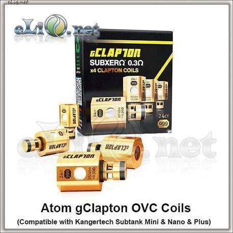Клэптон испаритель для KangerTech Subox / Subtank / Mini / Nano / Plus. Atom gClapton OVC Coils