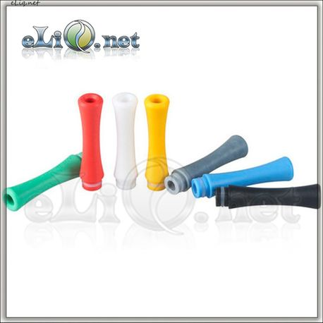 [510] Длинный дрип-тип из цветного пластика  (Drip Tip)