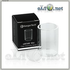 KangerTech Subtank Mini - стеклянная колба. Pyrex Glass Replacement Tube