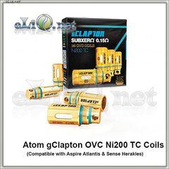 ATOM. Ni200 клэптон испаритель для Herakles, Atlantis, Atlantis 2 и Mega, Triton. gClapton OVC Ni200 Coils