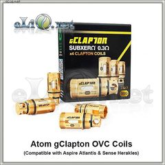 ATOM. Клэптон испаритель для Herakles, Atlantis, Atlantis 2 и Mega, Triton. gClapton OVC Coils