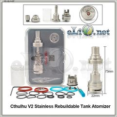 Cthulhu RTA V2 - обслуживаемый атомайзер-танк. Ктулху. (4.7 мл)