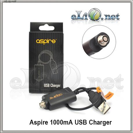 Aspire 1000mA USB Charger. Зарядное устройство для больших батареек от Aspire