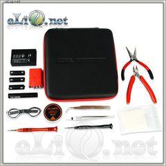 Coil Master E-cig DIY Kit V2 - большой набор инструментов + омметр + кейс.