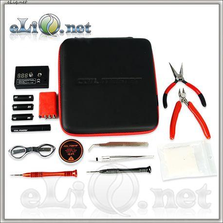 E-cig DIY Tool Accessories Kit V2 - большой набор инструментов + омметр + кейс.