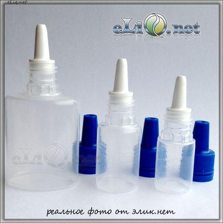 Флакон полимерный 5 - 10 - 30 мл с капельницей.