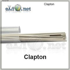 Clapton Nichrome Rod Wire (28ga+24ga) - клэптон нихром.