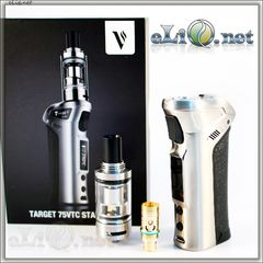 75W Vaporesso TARGET VTC Kit with Ceramic cCELL Coil Tank - боксмод вариватт + атомайзер, набор