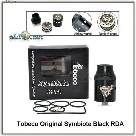 Tobeco Original Symbiote. Обслуживемый атомайзер для дрипа. Оригинал