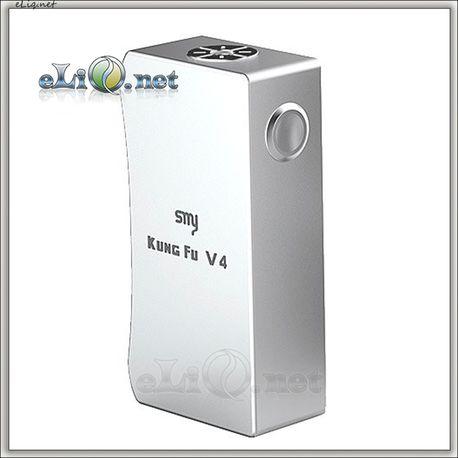 SMY Kung Fu V4 mechanical box mod - большой механический мод под 2 аккумулятора 26650 или 18650