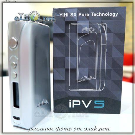 Pioneer4you IPV 5 200W TC Box Mod - боксмод вариватт с температурным контролем.