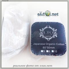 10 шт LTQ Vapor - Japan Organic Cotton - 5х6 см - коттон, вата.