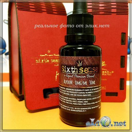 Sixth Sense Premium. Премиальная жидкость для заправки электронных сигарет от Expan Group