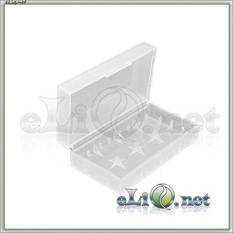 Футляр для батареек  2*18650