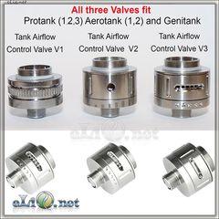 [KangerTech] New Airflow Control Valve v3 for Protank 2 / Protank 3 / AeroTank - новая база с регулировкой обдува.