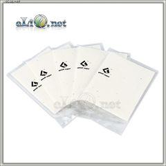 5 шт GeekVape Squares of Japanese Organic Cotton - 6х8 см - коттон, вата.