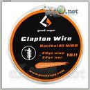 [GeekVape] Clapton (26GA + 32GA) 5м. Клэптон кантал.