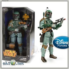 Говорящий Боба Фетт Звёздные войны Дисней. Star Wars Talking Boba Fett Figure Disney. Оригинал США