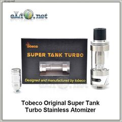 Tobeco Original Super Tank Turbo - 4ml - сабомный атомайзер Супертанк Турбо.