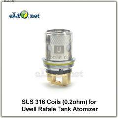 SUS 316 (0.2ohm) испаритель для Uwell Rafale Tank Atomizer