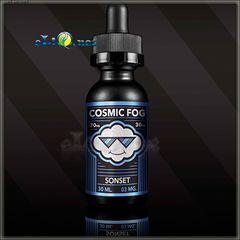 30 мл Sonset. COSMIC FOG - Премиальные жидкости из Калифорнии.