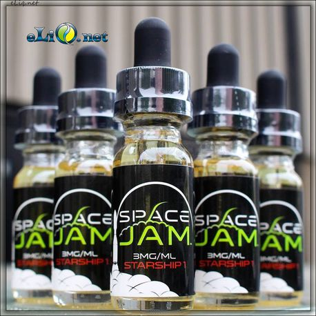 30 мл Space Jam - Galactica - Премиальные жидкости из США.