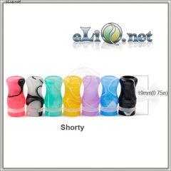 Разноцветный Маленький Drip Tip for 510/901