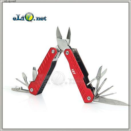 UD Cool Kit With 10-in-1 Multi-functional Tools - складной инструмент для обслуживания атомайзеров все-в-одном.