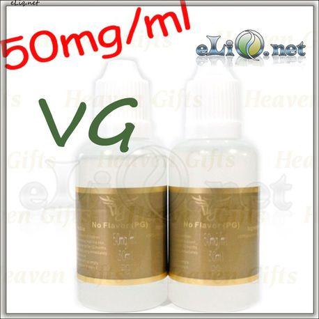 30ml HG 50mg/ml No Flavor e-juice e-liquid (VG,50mg/ml)