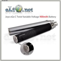 [Joyetech] Joye eGo-C Twist Variable Voltage 900mAh battery - варивольт