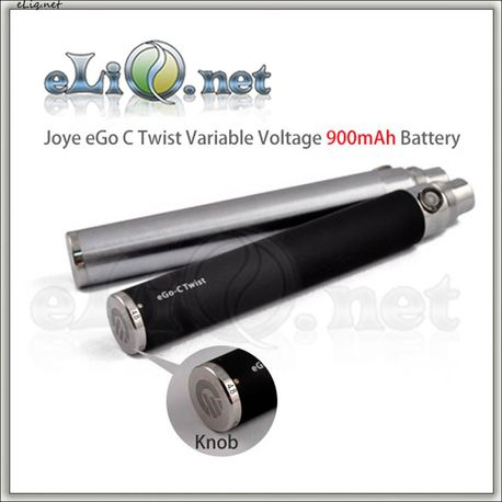 [Joyetech] Joye eGo-C Twist Variable Voltage 900mAh battery