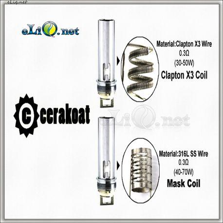 Испаритель Clapton X3 Coil (0.3ohm) для Horizon Cerakoat Tank Atomizer.