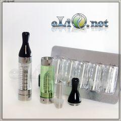 E-Turbo XL  - eGo 2.4ml CC (Coil Changeable) - Разборной клиромайзер 2.4 мл