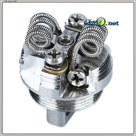SMOK Micro R2 RBA Dual Coil - двуспиральная обслуживаемая база.