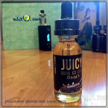 30 мл Juicy Ohms - OHMuffin - Премиальные жидкости из США.