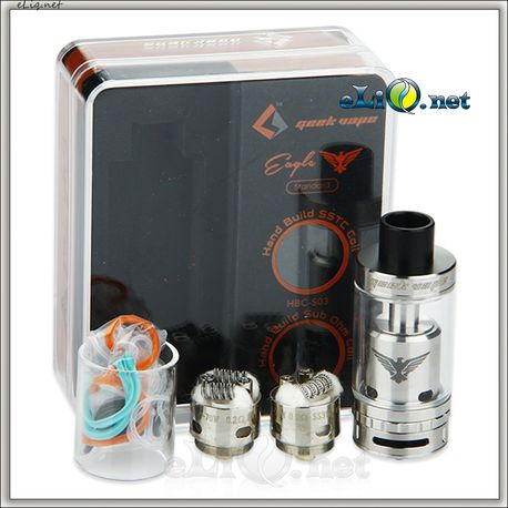 GeekVape Eagle Tank With HBC - 6.2ml - Атомайзер - танк. Орел. Оригинал.