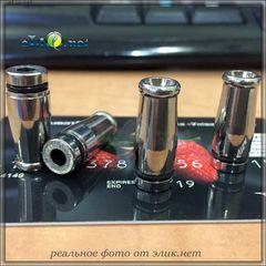 [510] Металлический  дрип-тип, мундштук. 23*9.2мм. № 3777