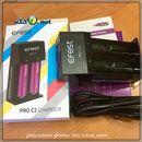 Efest Pro C2 charger универсальное двуслотовое зарядное устройство