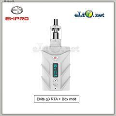 EHPRO eKits G3 - 80W Ehpro SPD A8 Box Mod + Billow V2 Nano.  Набор: боксмод вариватт + атомайзер.