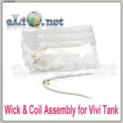 2 шт 2 ОМ (фитиль и спираль) Vivi Tank Wick & Coil Assembly