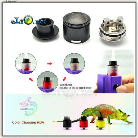 Hotcig Chameleon RDA Atomizer - обслуживаемый атомайзер - дрипка. Хамелеон.