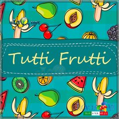 20 мл. Tutti Frutti. Жидкость для заправки электронных сигарет от FlavourArt (Италия) Тутти Фрутти.