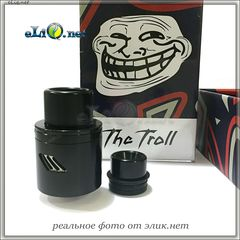 Дрипка Wotofo The Troll 25 RDA V2 - обслуживаемый атомайзер для дрипа. Тролль.
