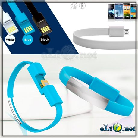 Браслет для зарядки! Flat Data Charging Cable for iPhone 5 Series & iPhone 6