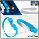 Браслет для зарядки айфонов. Flat Data Charging Cable for iPhone 5 Series & iPhone 6
