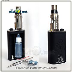 Smokeless Owl Terminator Starter Kit - мехмод + атомайзер для дрипа, набор - сквонк Терминатор.