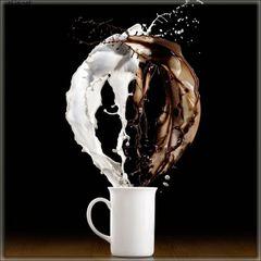 Кофе с молоком (eliq.net) - жидкость для заправки электронных сигарет